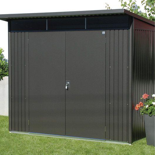 Abri De Jardin En Metal Avant Garde L Biohort 4 33 M Ep 53 Mm Casette Da Giardino Casette Giardino