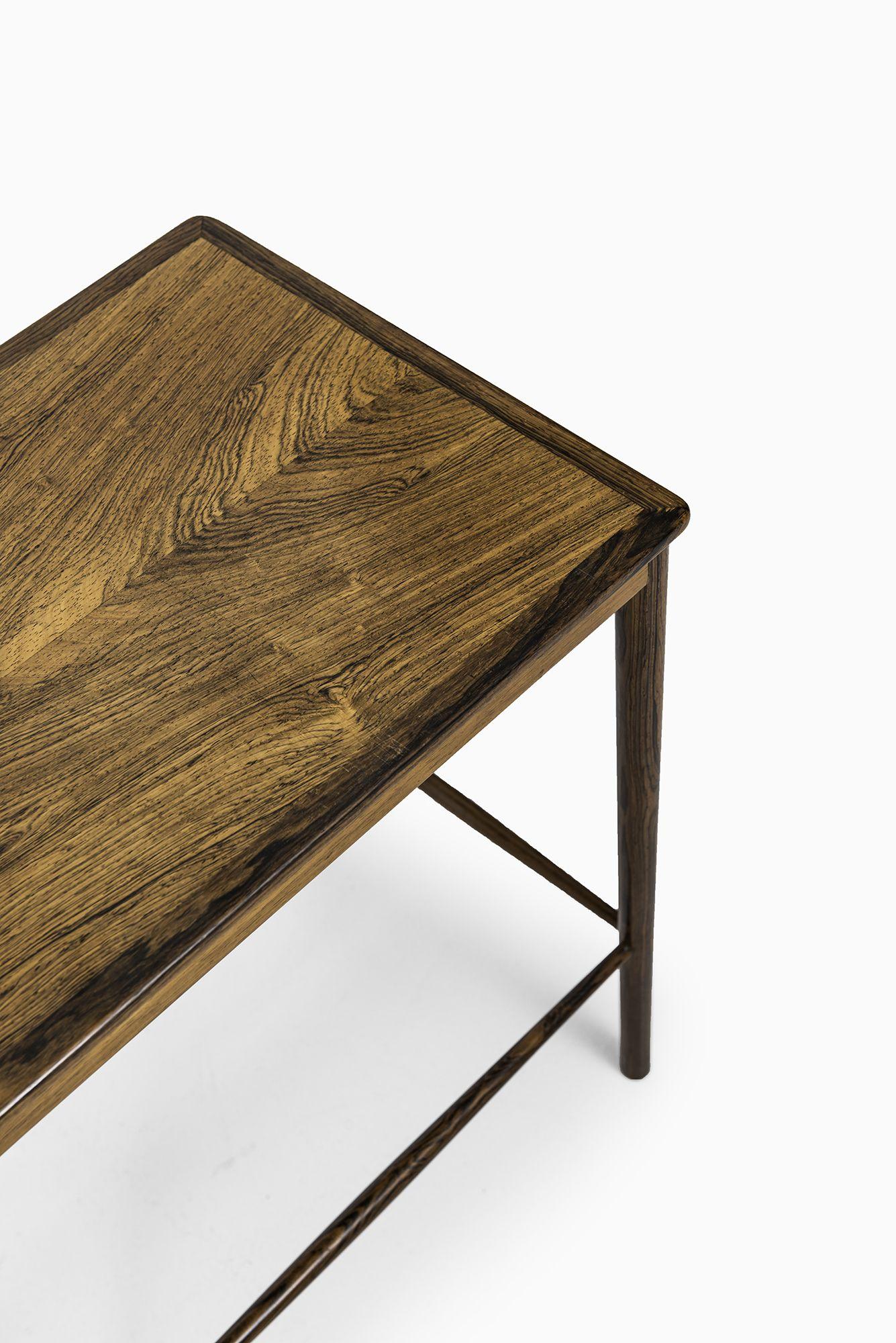 Grete Jalk Nesting Tables In Rosewood At Studio Schalling