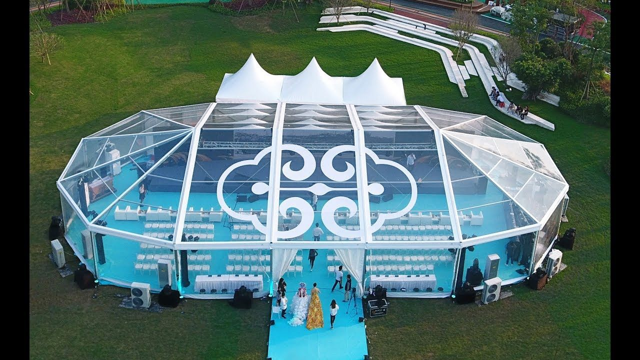 Transparent Multi Sided Tent Event Tent With Diamond Shape