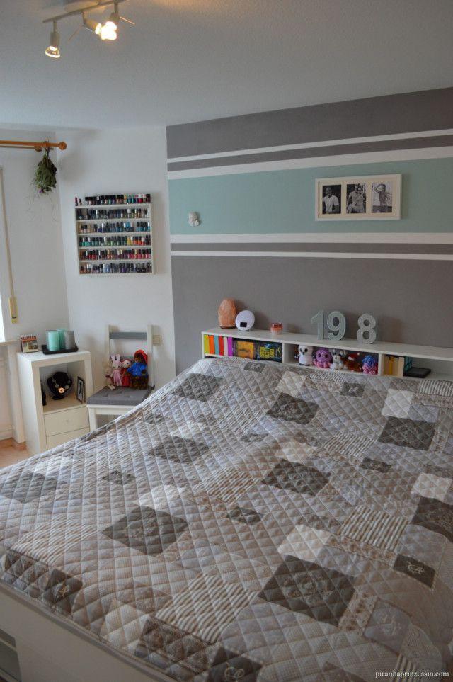 Einrichtung Schlafzimmer Interior Design bedroom türkis