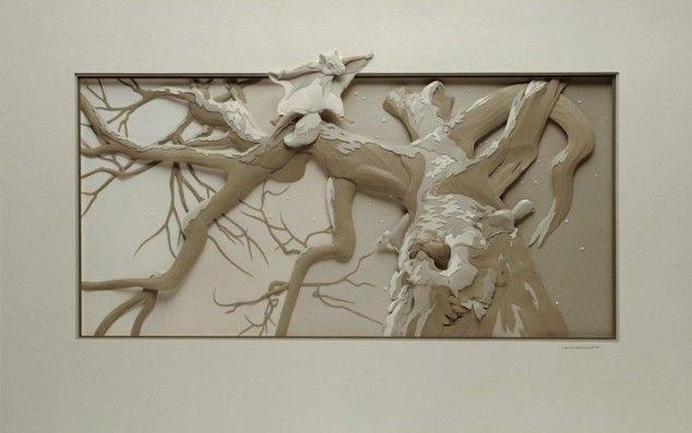Calvin Nicholls' Paper Sculptures - 02