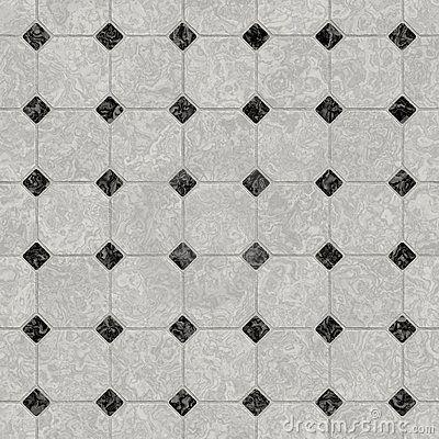 Marble Floor Pattern elegant black and white marble floorsybille yates, via