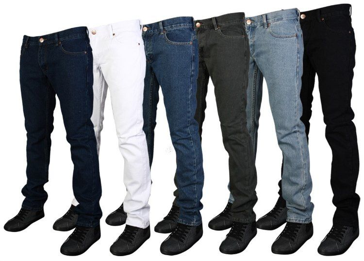 Colección de jeans clásicos, momentos familiares y con amistades, Jeans  para caballero, color