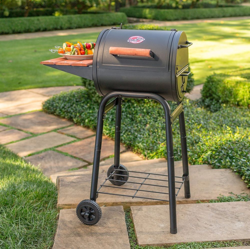 Char Griller Patio Pro Charcoal Grill 250 Sq In Of Cooking Space