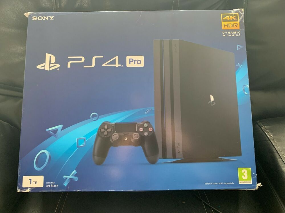 Sony Playstation 4 Ps4 Pro System Cuh 7116b 1tb Read Ps4 Gaming Video Console System Playstation 4 Playstation