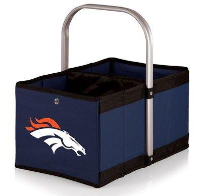 Denver Broncos Urban Collapsible Basket Navy :http://hometooutdoors.com/shop/licensed-theme/picnic-timedenver-broncos-urban-collapsible-canvas-basket-navy/