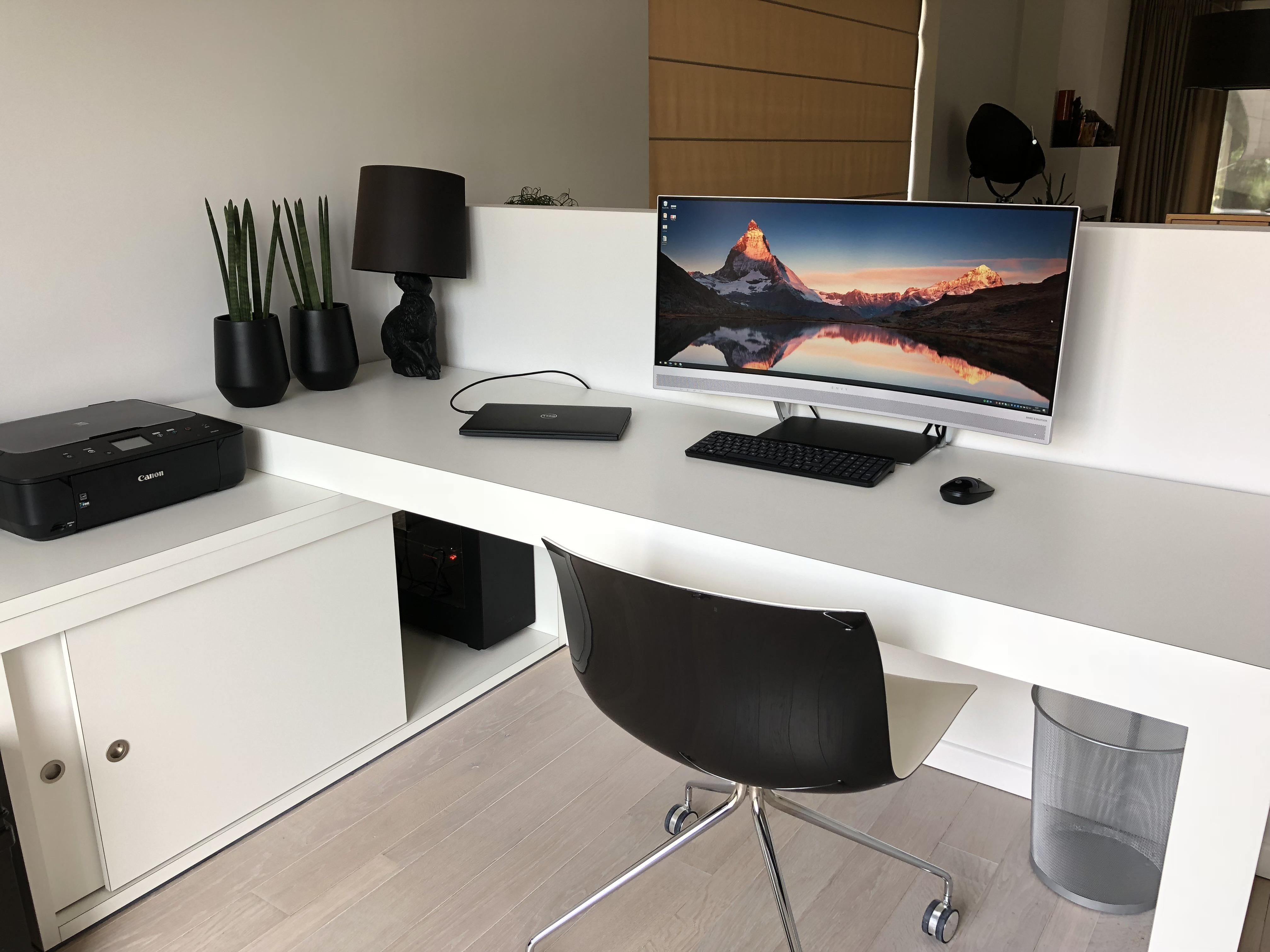 My Clean Home Office Gaming Setup Battlestations Home Office Setup Bedroom Setup Office Setup