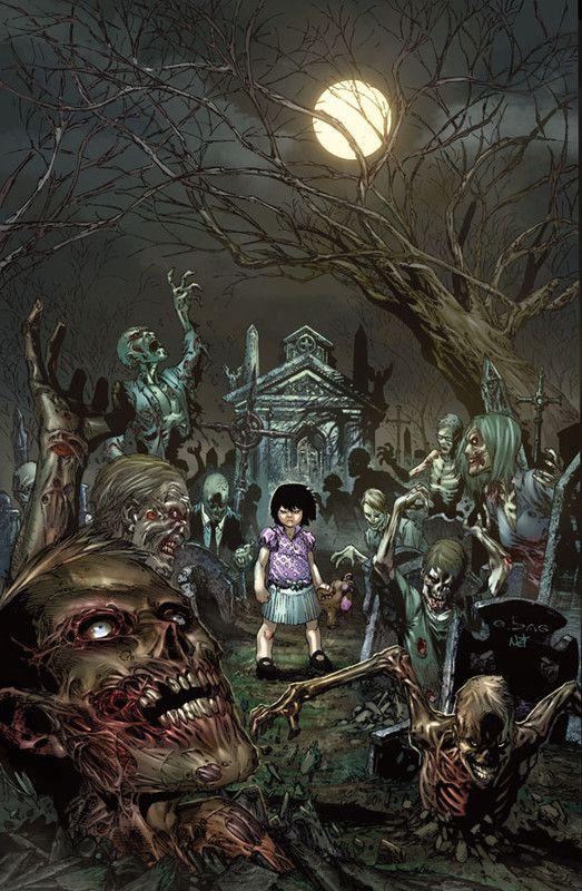 Graveyard sex scene zombies
