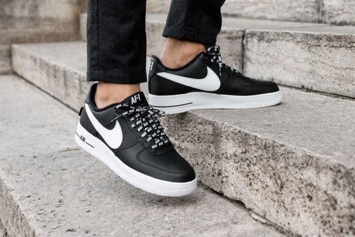 newest 3a443 98d55 Nike Air Force 1 Low NBA (Statement Game) Black White Dropping Next Week