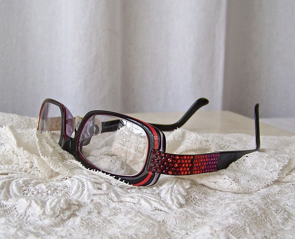 Daniel Swarovski Crystal Eyeglass Frames Ruby Red S160 21 6055 | Room