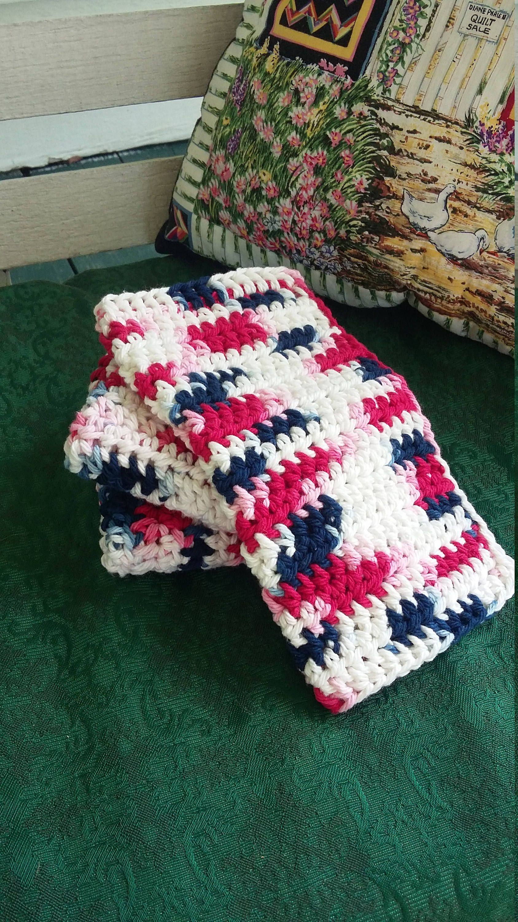 Crochet dish cloths, Rustic country, Kitchen decor  Ready to ship is part of Country Clothes Rustic - My 100% cotton dish or wash cloths would make a great housewarming gift   Or just spomething special for yourself  They come in a set of 3 8x8 cloths for $9 00   They are very durable and will last for years to come   They are machine washable, will shrink a bit due to being 100% cotton   Shades and size may vary slightly depending on the brand of yarn  If you would like this item in a different color just send me an email and I will be happy to help  Handmade in a nonsmoking pet free home  Thank you for stopping by my shop and have a blessed day