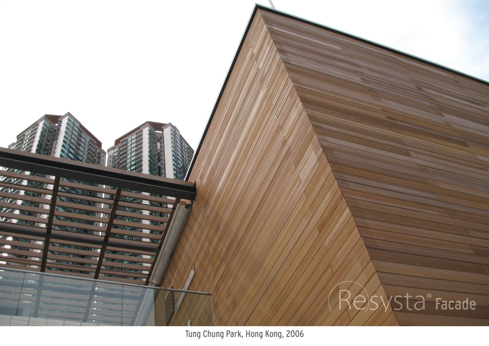 Resysta Weather Resistant Wood Look