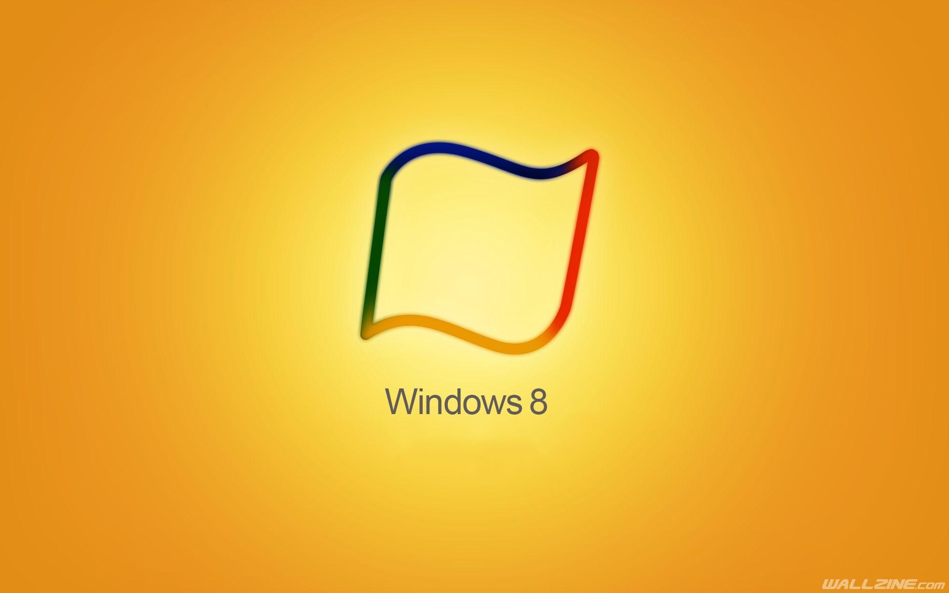 Windows 8 Yellow Hd Desktop Wallpaper Wallzine Com Windows Wallpaper Yellow Wallpaper Windows