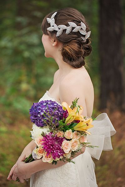 Wedding hairstyle for long hair                                                                                                                                                                                 More