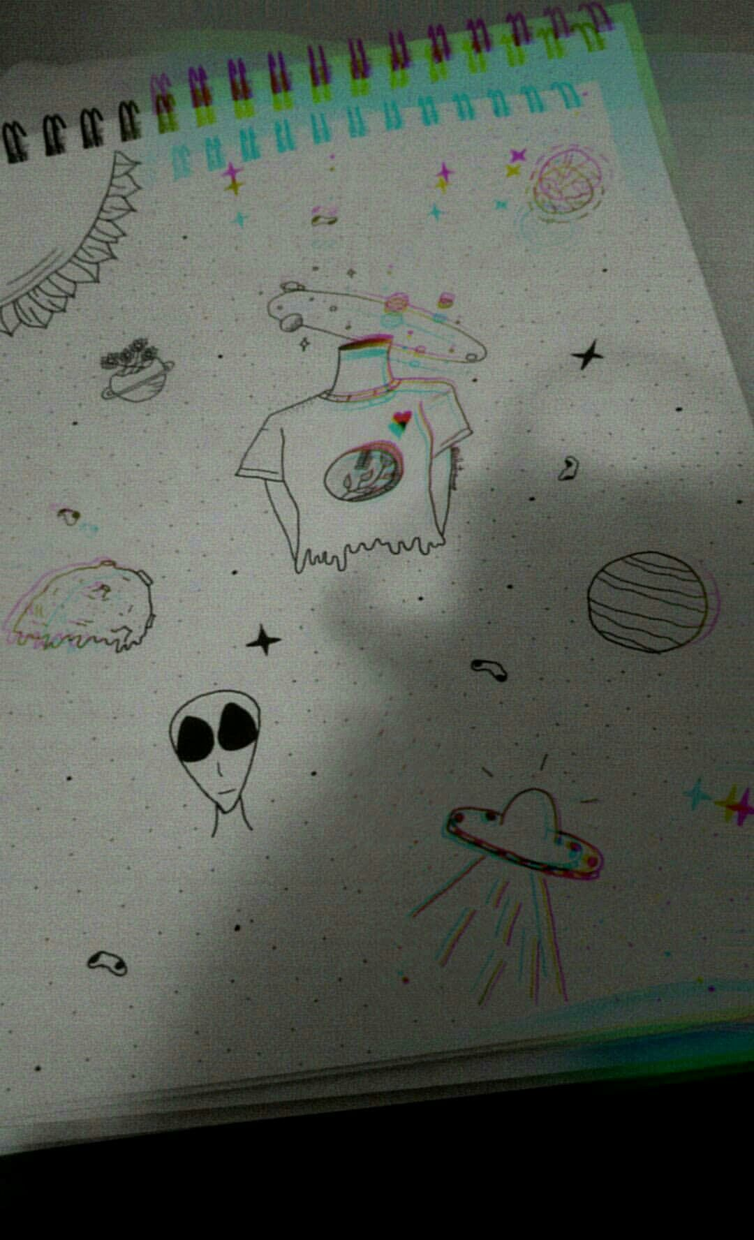 Papel Tumblr Tumblr Ilustracao Illustration Desenho Sketch