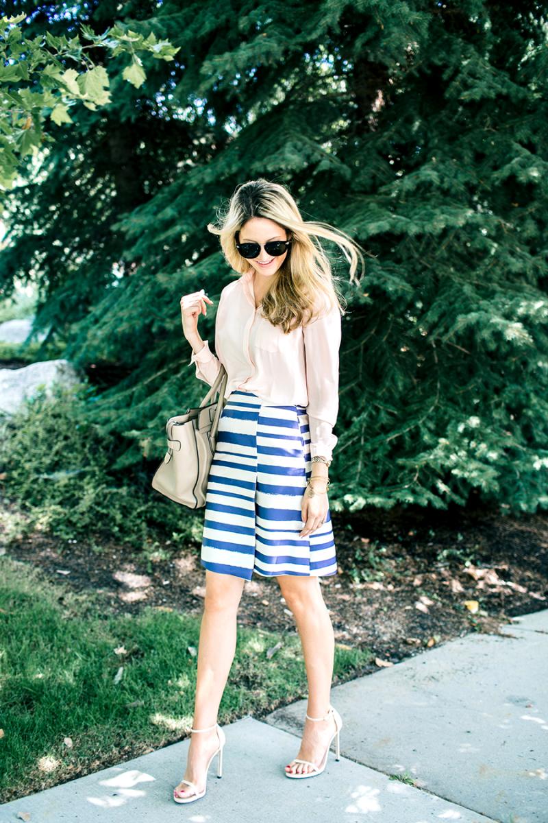 Striped | Ivory Lane