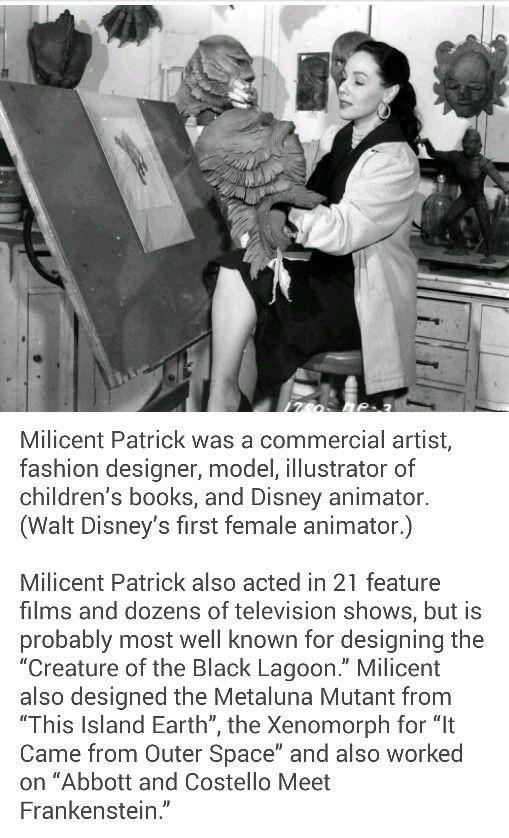 Milicent Patrick - Born: November 11, 1915, El Paso, TX Died