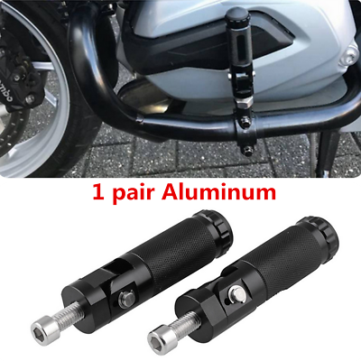 CNC Universal Motorcycle Rearset Footrests Footpeg Foot Pegs Pedals Folding Race