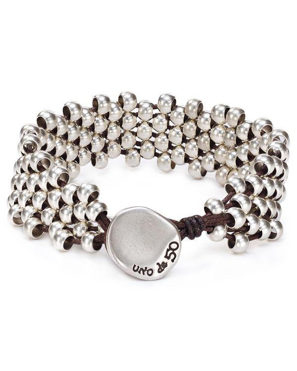 Uno de 50 Slipping Bead Bracelet
