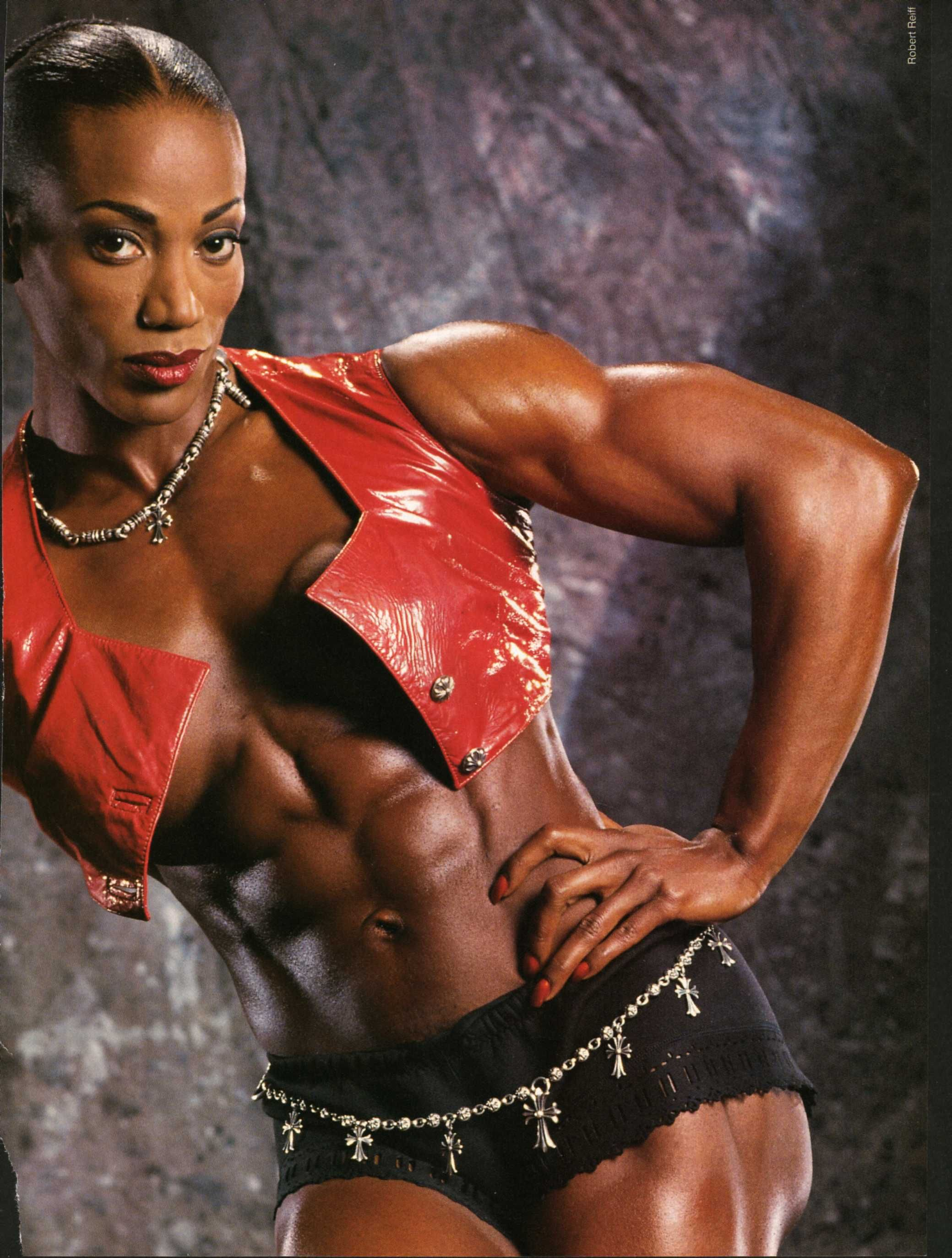 Lenda Murray | Body :: Abs | Pinterest | Fit black women ...