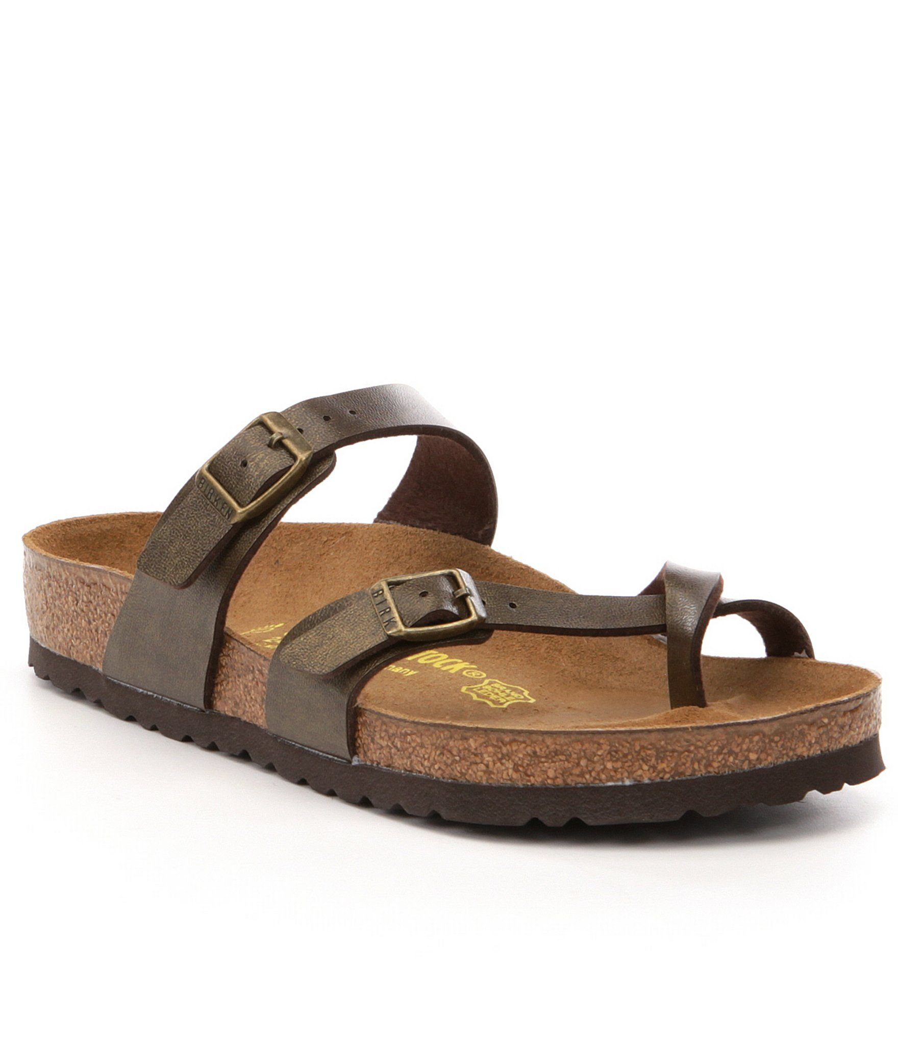 Birkenstock Women's Mayari Adjustable Buckle Criss Cross Sandals 9EKK6