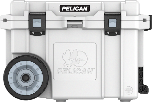 Perfect For A Day Outside The 45 Quart Comes With Heavy Duty Wheels So You Can Easily And Effectively K In 2020 Pelican Cooler Pelican Elite Cooler Cooler With Wheels