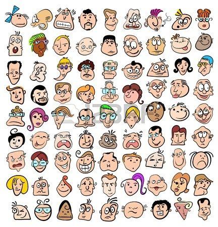 Pin En Dibujar Rostro Emociones