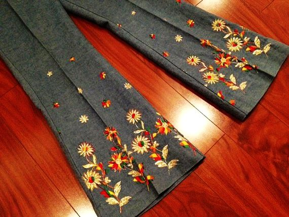 How to machine embroidery on jean pant legs google search how to machine embroidery on jean pant legs google search ccuart Gallery