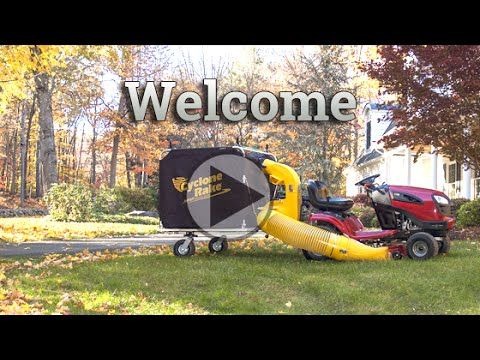 Leaf and Lawn Vacuums by Cyclone Rake Cyclone Rake (With