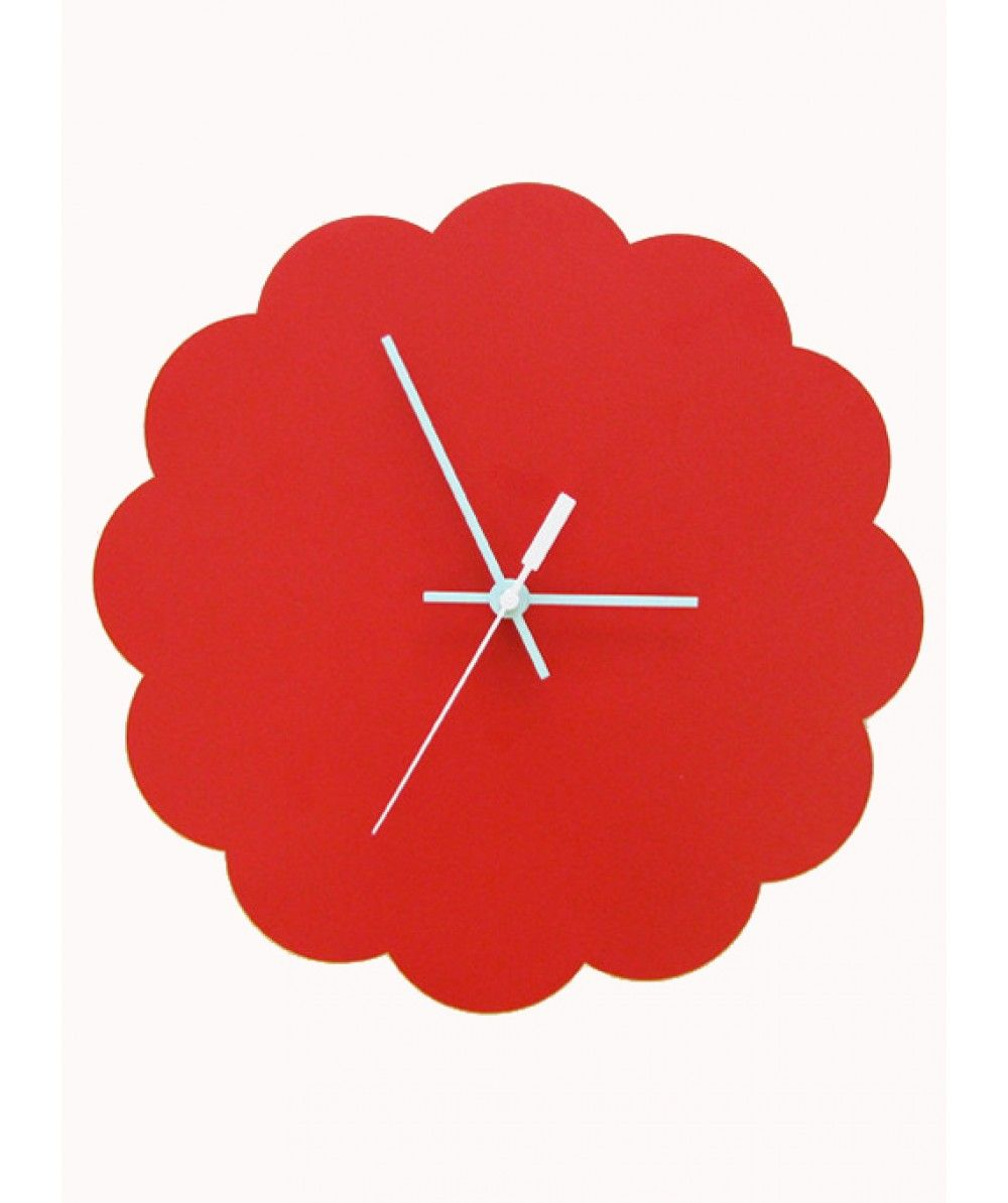 Red Cloud Clock Large- Wooden Wall Clocks for Sale Australia| Clocks ...