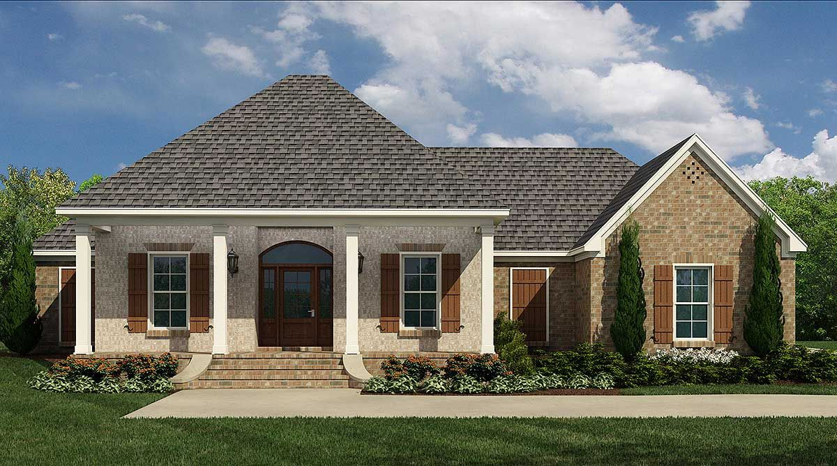 Southern Style House Plans 1976 Square