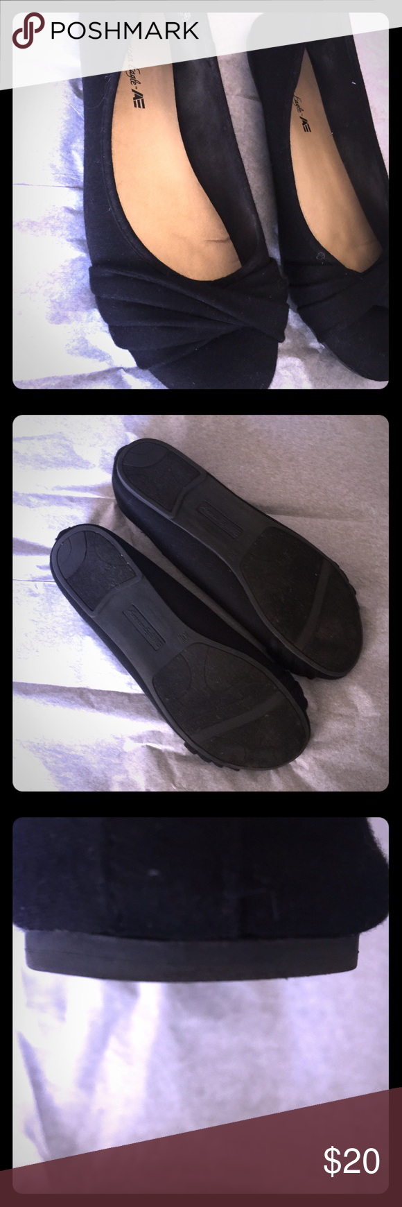 AE for Payless Wide Width Flats! Comfy