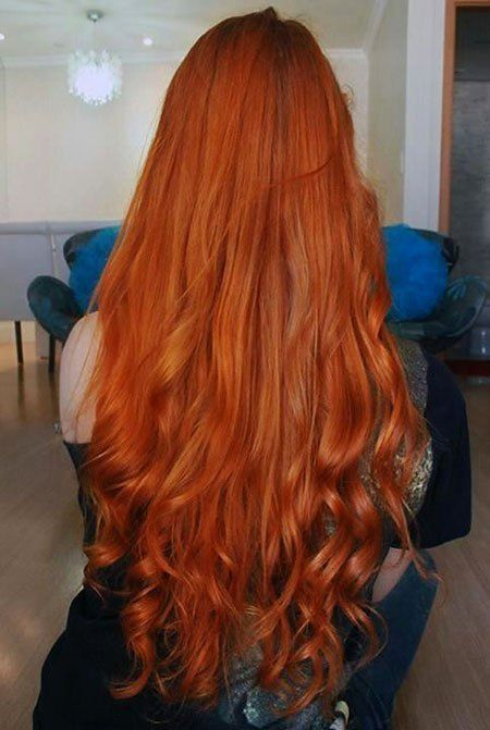 30 Long Curly Red Hairstyles