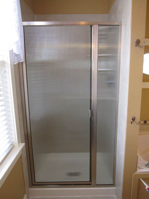 Light glass shower doors lightweight glass shower door replacement framed glass shower door replacement options for kansas city homes framed glass options from precision glass call for a free estimate in kansas city planetlyrics Gallery