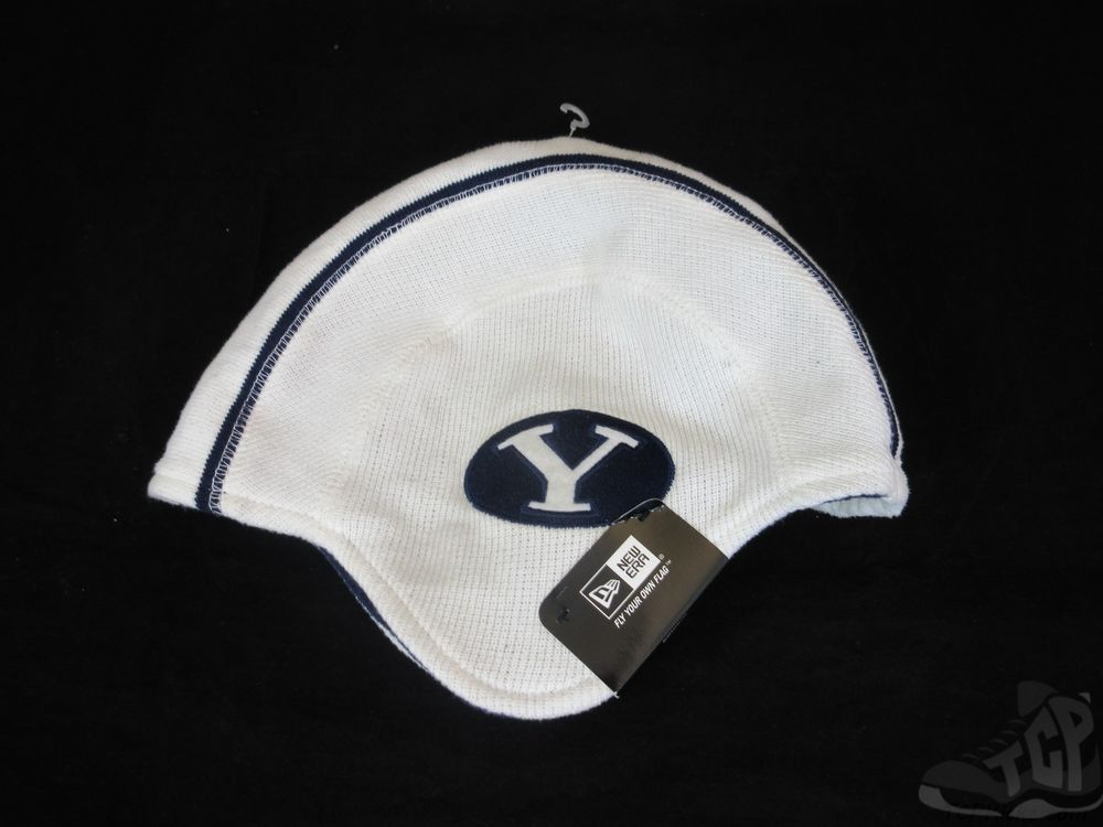 788727bc974e2d New Era Brigham Young BYU Cougars Football Helmet Winter Hat Beanie ONE  SIZE Cap #NewEra #BYUCougars #tcpkickz