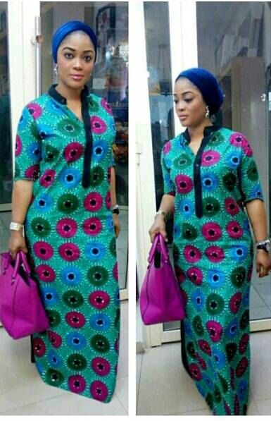 V tements africain ankara robes imprim par - Pinterest mode femme ...