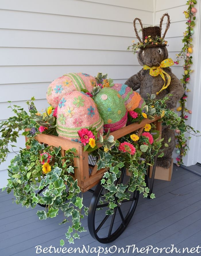 Decorate Outdoors For Easter Easter Outdoor Easter Diy Diy Easter Decorations