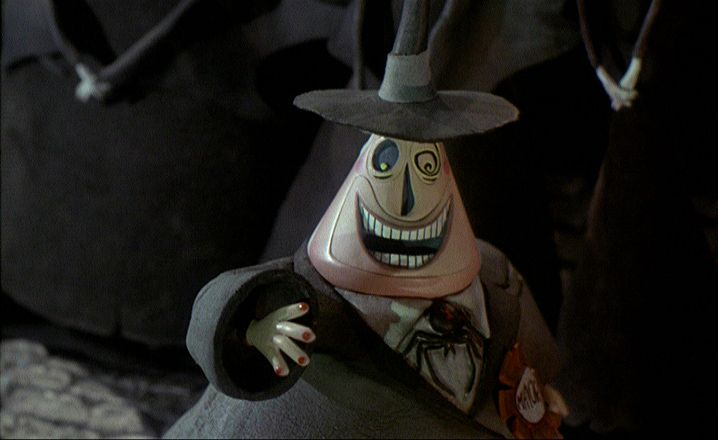 Two-Faced Mayor of Halloween Town (Best Tim Burton Character Ever ...