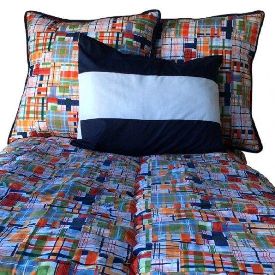 Journey Plaid Bunk Bed Hugger Fitted Comforter Bunk Bed