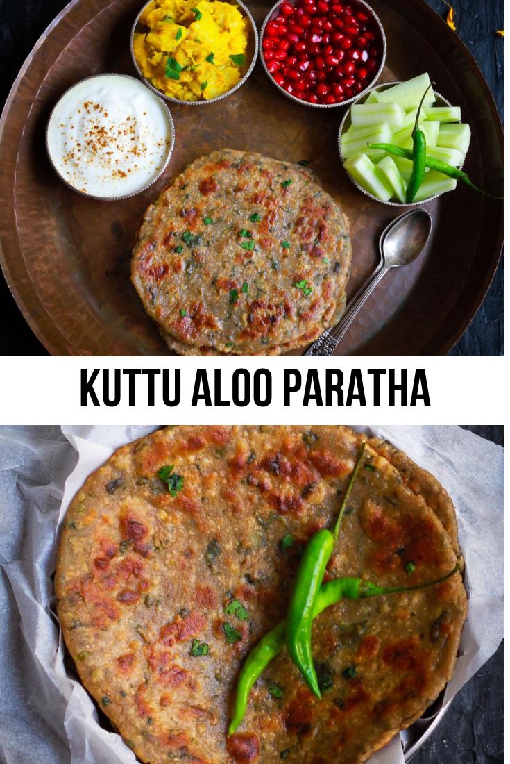 Kuttu Aloo Paratha