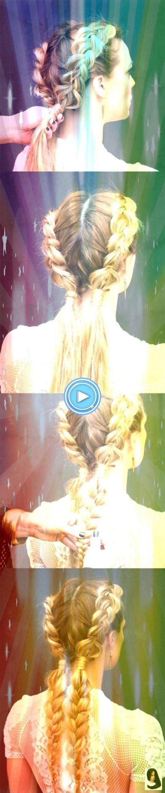 #principios #peinado #tutoriales # cola de pez # trenzas #fa