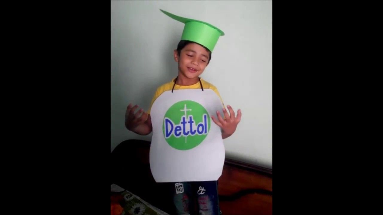 Fancy Dress Competition Detol Ad Act Play School Activity By Yug