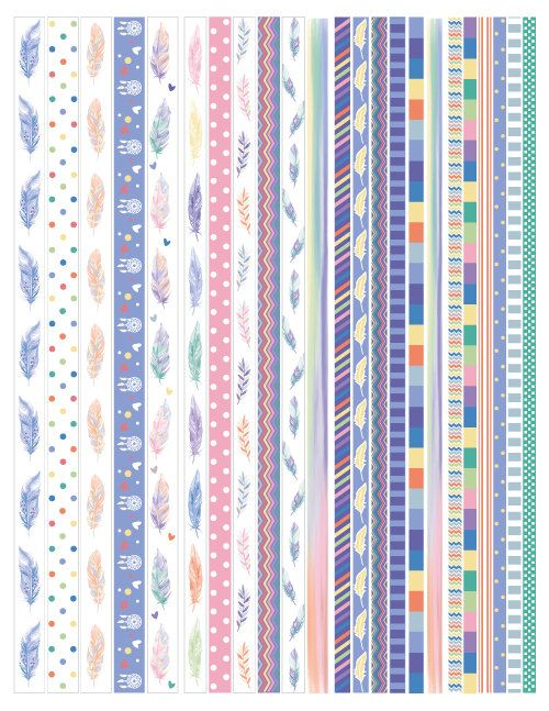 picture about Printable Washi Tape identify Pin upon Washi tape