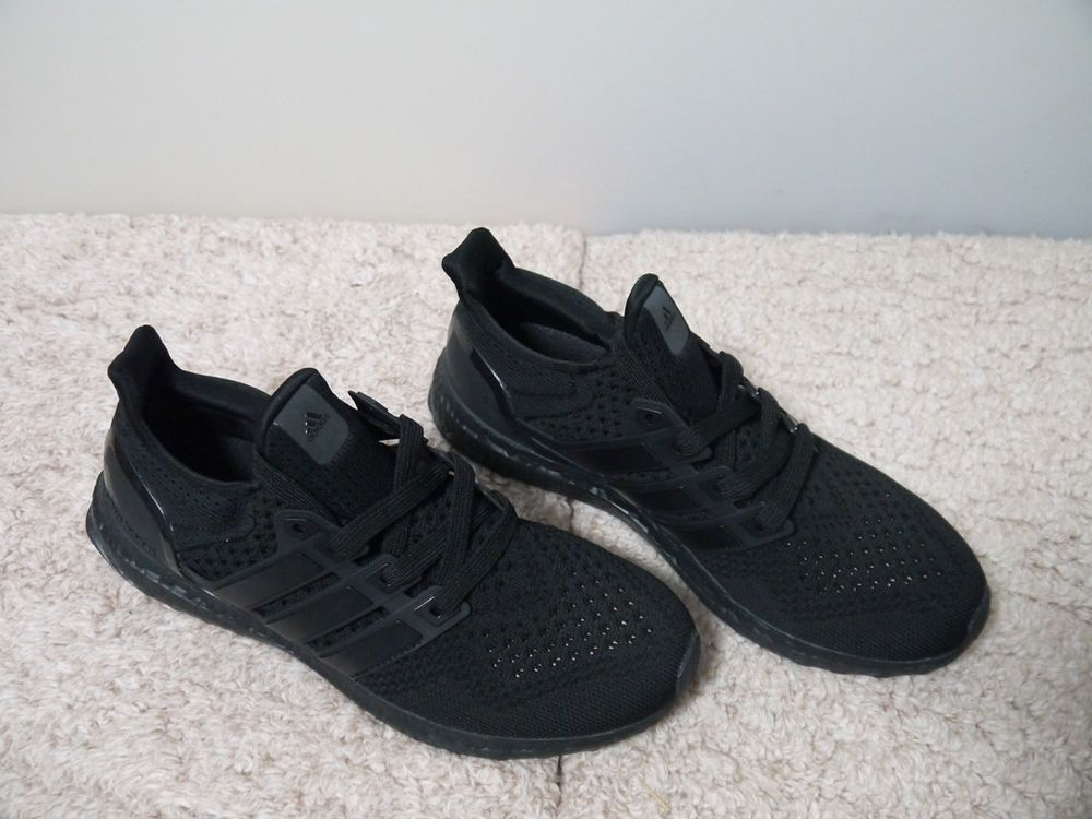 Limited Edition Men S Size 8 5 Adidas Ultra Boost 1 0 Triple Black Bb4677 Adidas Ultra Boost Black