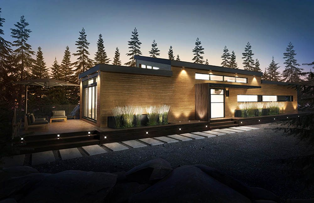Constructeur de maisons usin es unimodulaires l ments zephyr demtec architecture maison - Constructeur maison modulaire ...