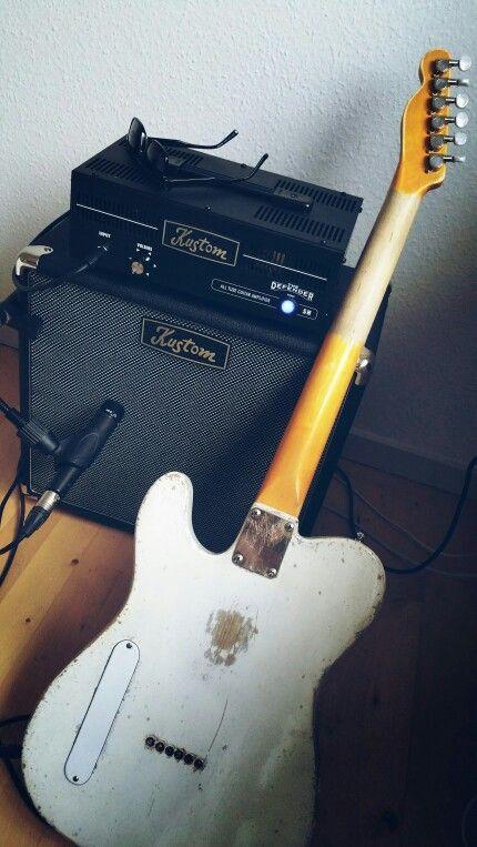 My Latest Tele Style Build Swamp Ash Hollow 100 Yrs Pine Top Maple Cap Neck 21 6105 Frets Vintage Trussrod Custom 59 S Machine Head Custom Guitar