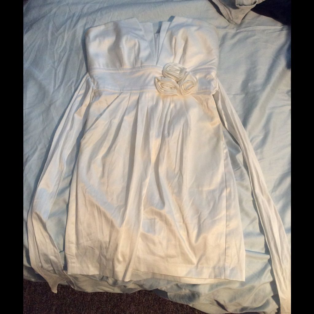 Never Been Worn White Dress Size 3