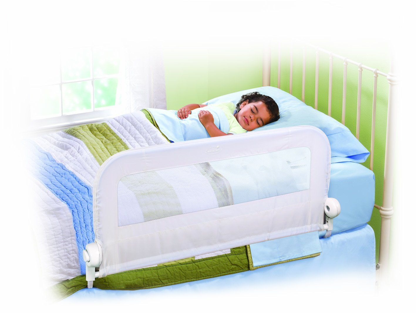 Summer Infant Grow With Me Single Bedrail (White) Baby