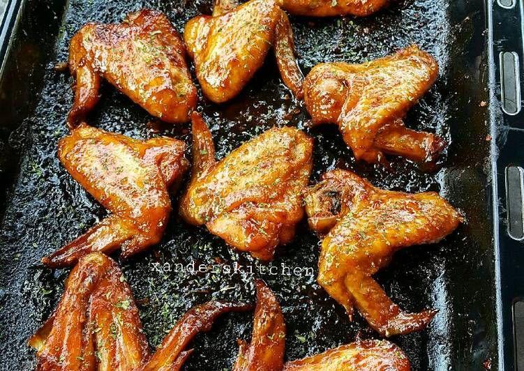 Resep Spicy Garlic Chicken Wings Oleh Xander S Kitchen Resep Resep Sayap Ayam Resep Makanan Memasak