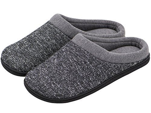 Men/'s Memory Foam Anti-Slip House Slippers Spring Summer Breathable Indoor Shoes